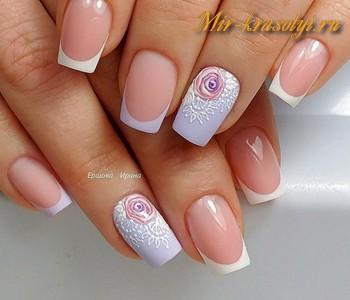 Красивые ногти гель лак