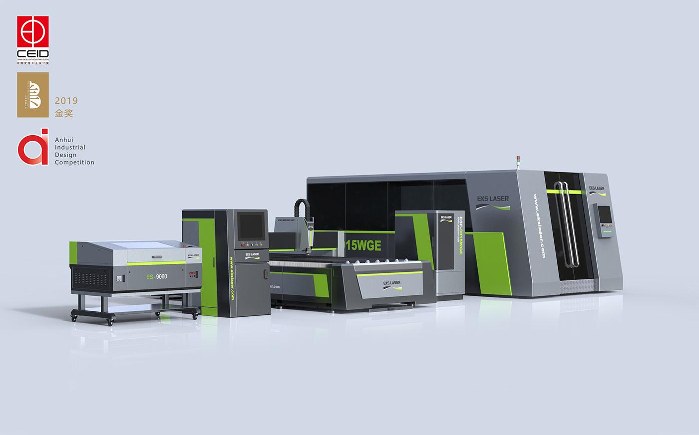 EKS Laser Cutting Equipment Series艾克森 光纖切割設備系列 on Behance