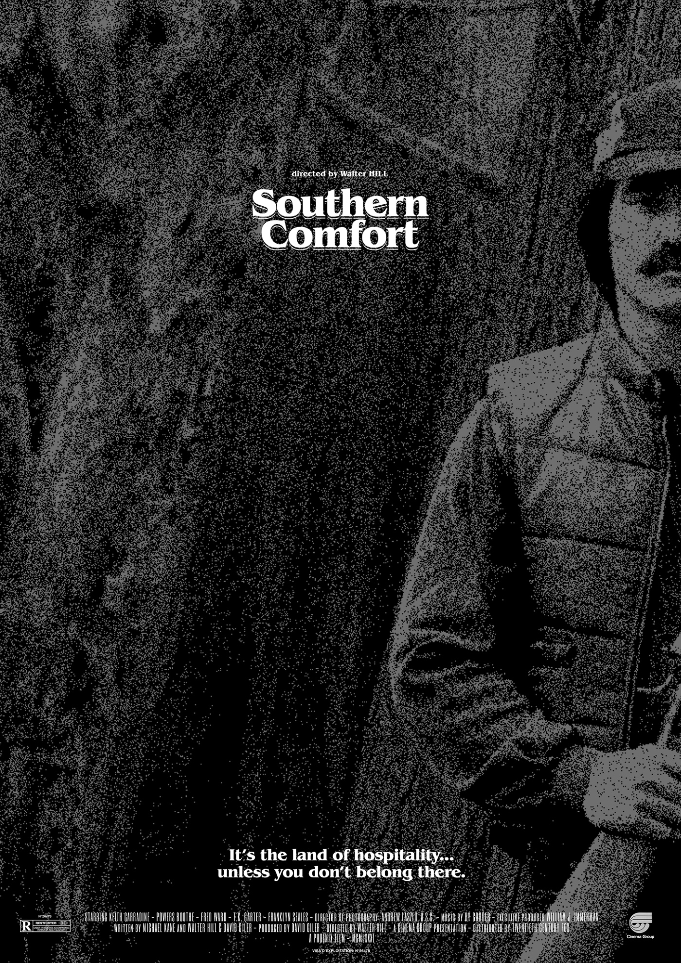 Southern Comfort Movie Poster On Behance