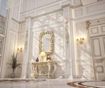Main Entrance Hall Design Private Villa Doha