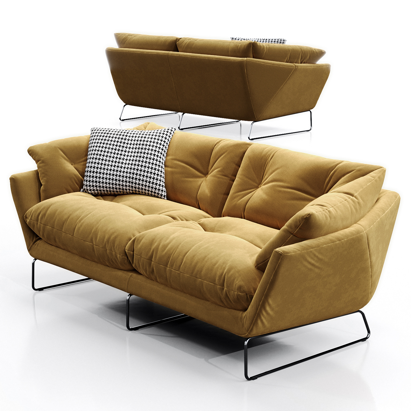 buy sofa bed new york folding table 3d model saba italia suite on behance