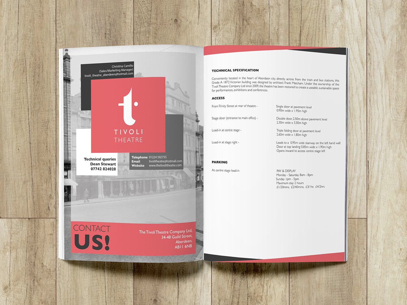 Competition Winner For The Tivoli Theatre Re Brand On Behance