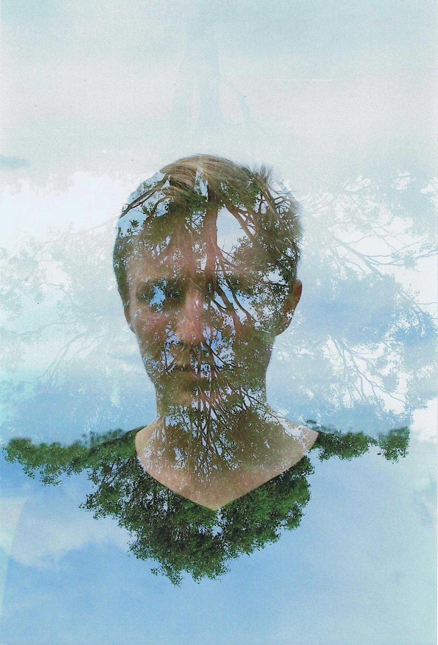Double Exposure Self Portraits   Film on Behance