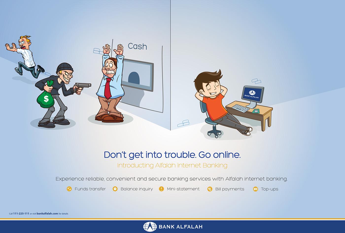 Bank Alfalah Internet Banking On Behance