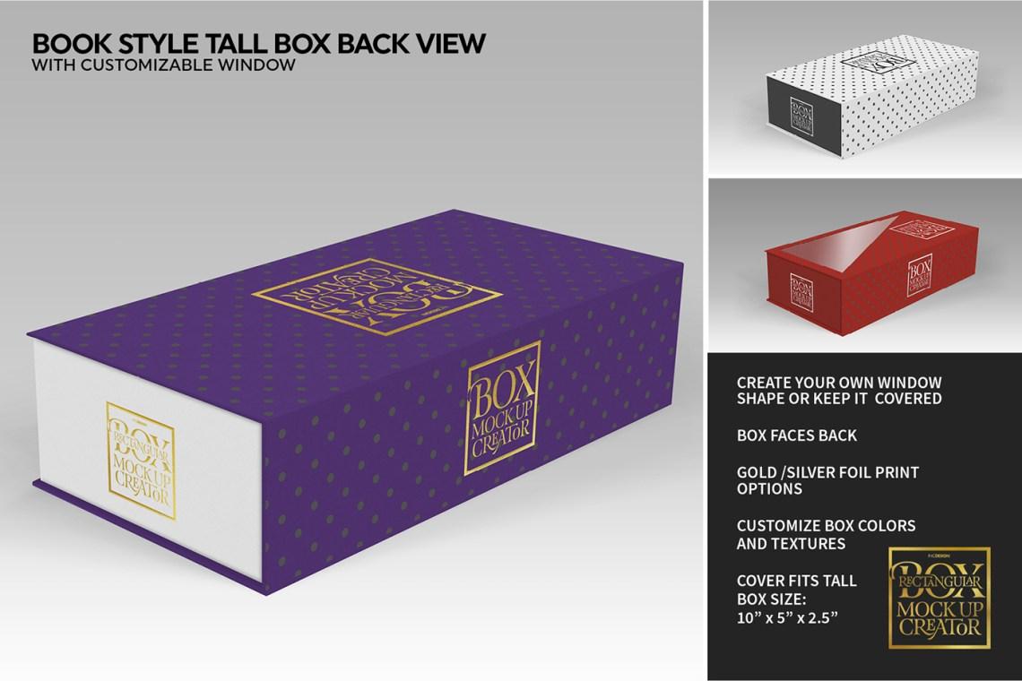 Download Rectangular Box MockUp Creator on Behance