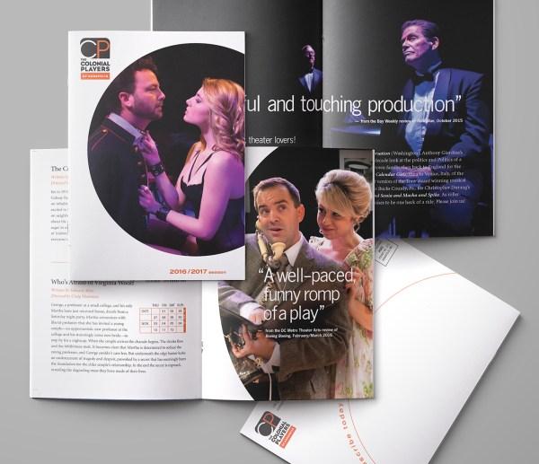 Theater Brochures Behance