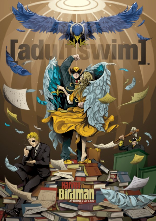 Adult Swim Behance
