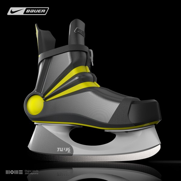 Nike Bauer Hockey Skates Impact 100 Behance