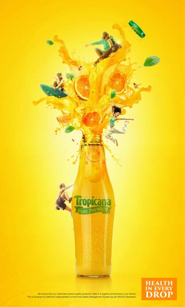 Tropicana Juice Campaign Behance