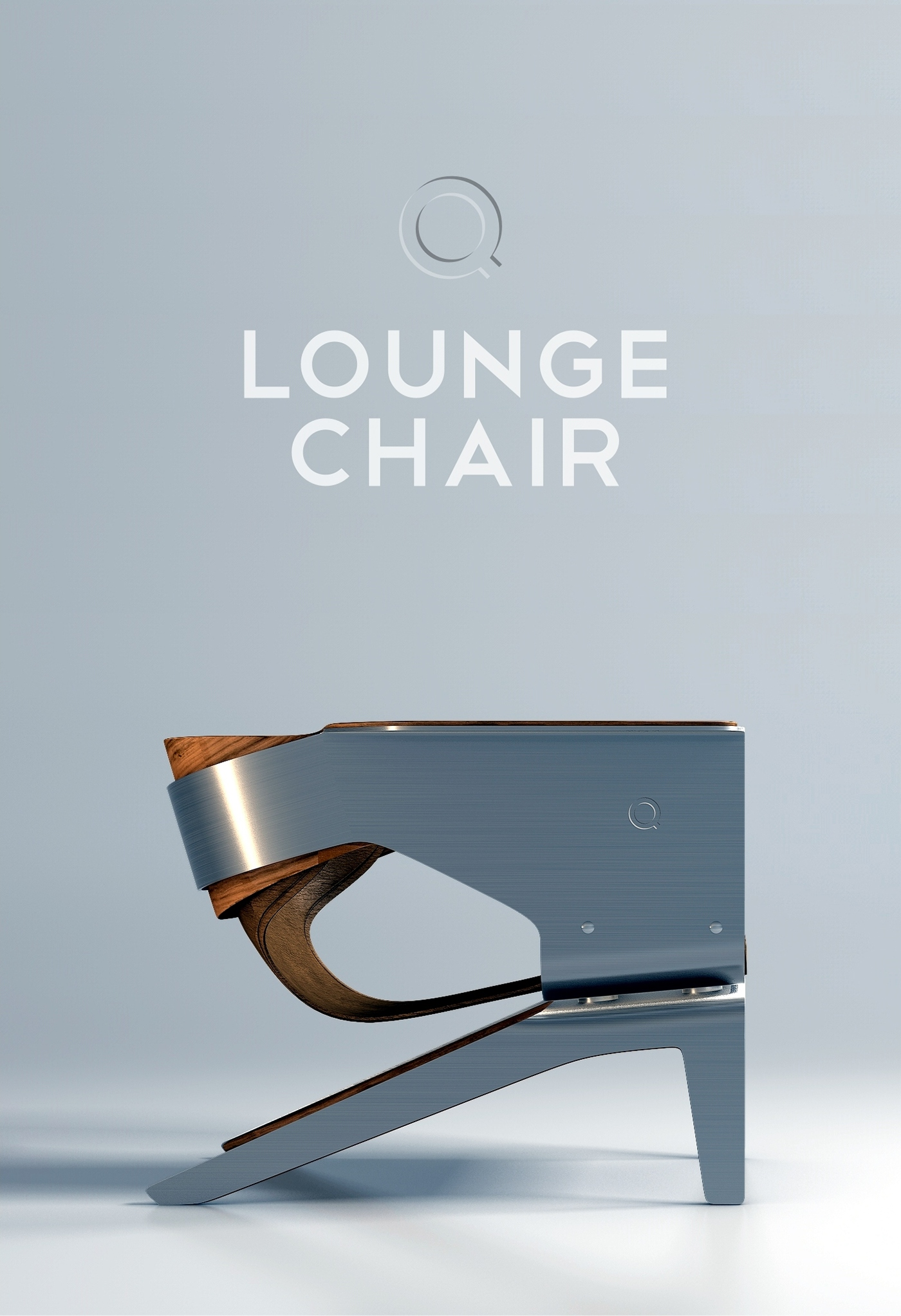 steel chair diy rocking slipcovers for nursery q lounge on behance