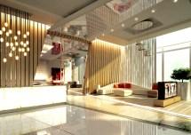 Alyal Hotel Lobby Design Behance