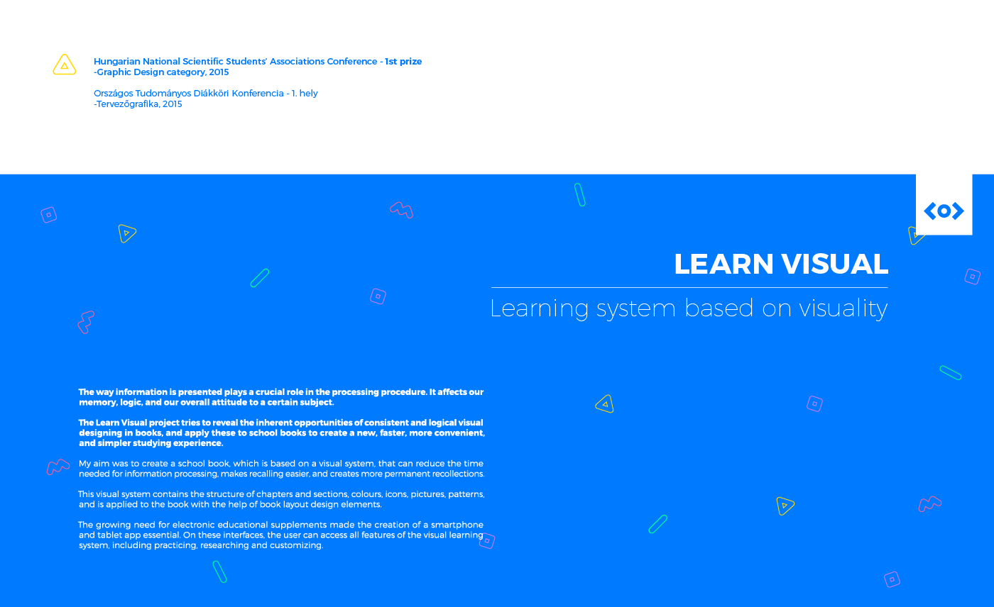 Learn Visual Learning System On Behance