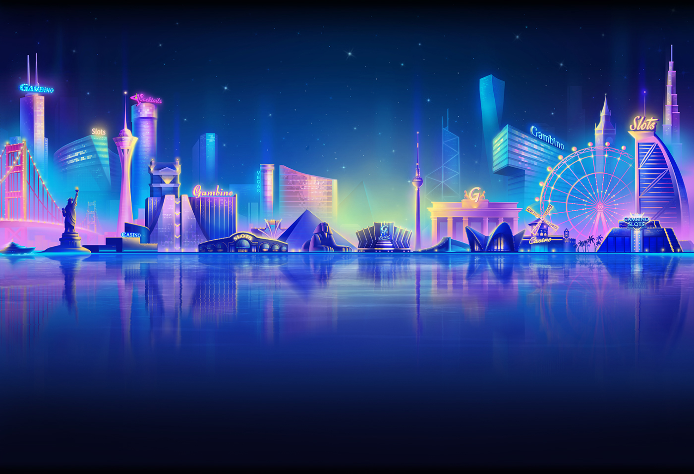 Live Wallpaper Money Falling Lobby Background For Gambino Slots On Behance