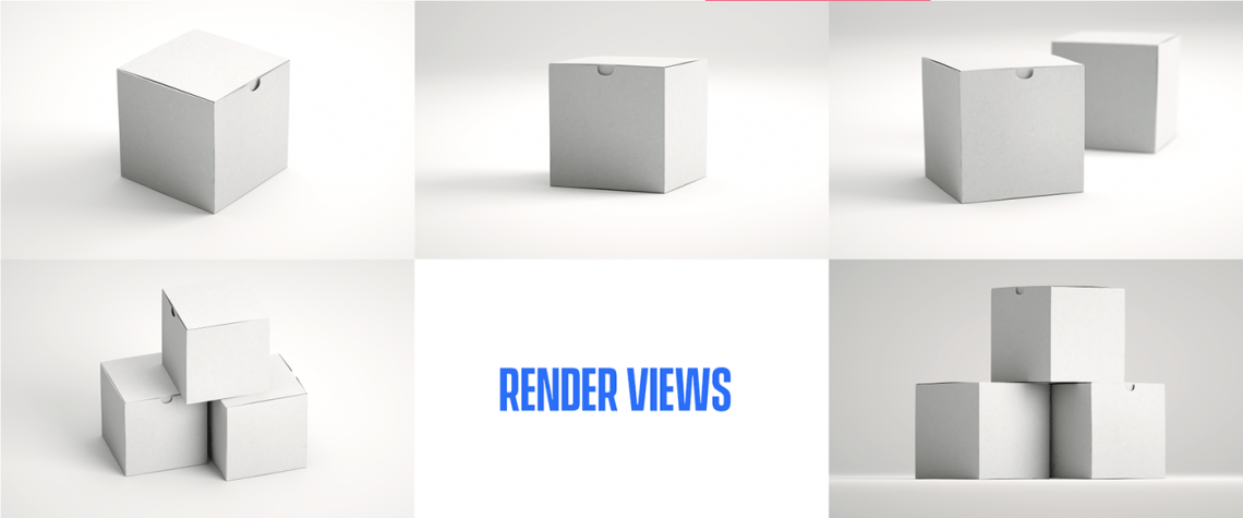 Download 5 FREE Cubic Box Mockups on Behance