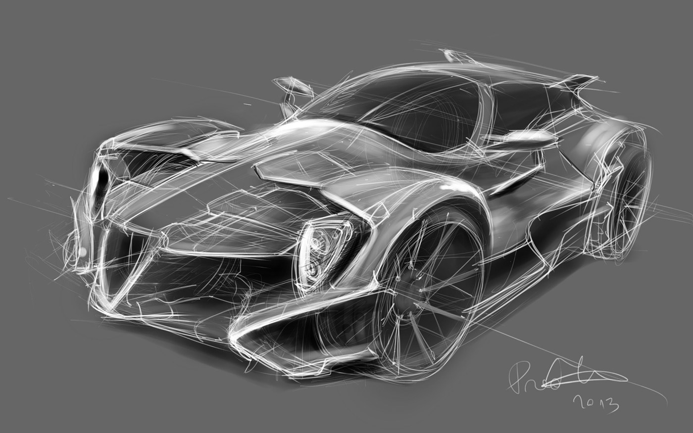 Car Concept Sketches On Behance