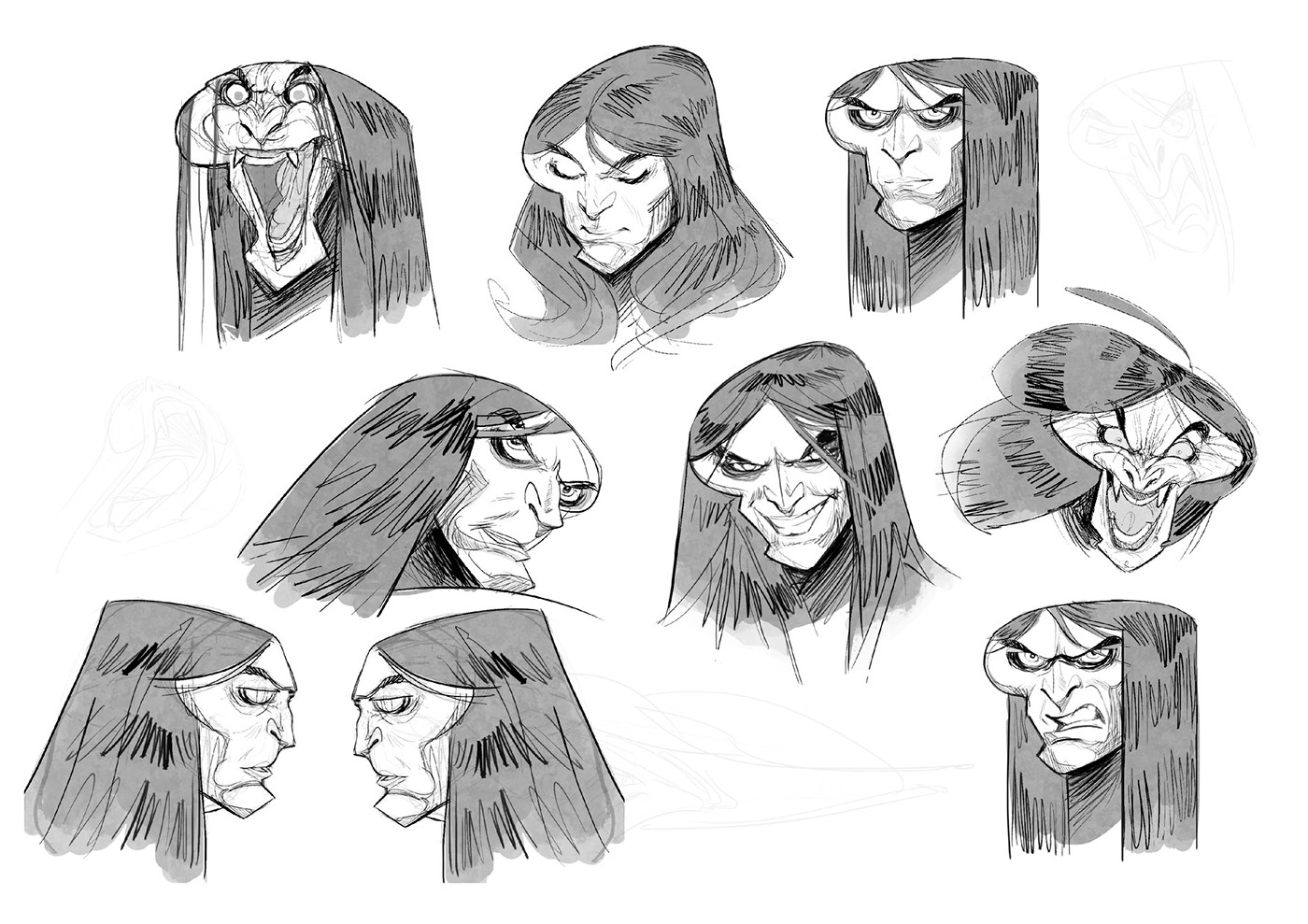 Conan The Barbarian (Character Design) on Behance