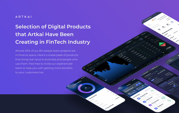 FinTech Product Design Selection 2020-2021 on Behance