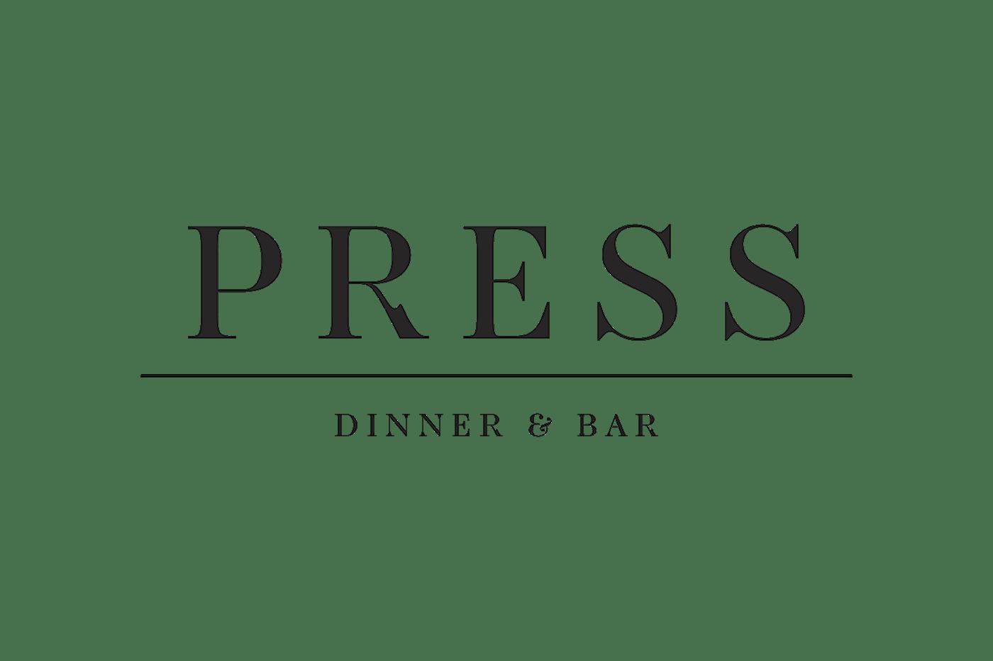 Press Dinner Amp Bar On Behance