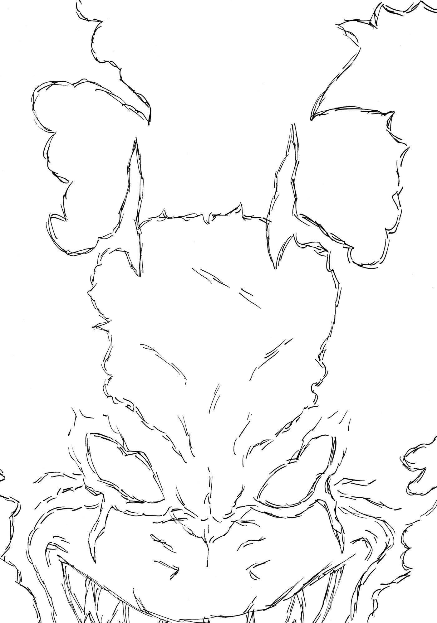 Devilman on Behance