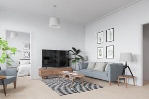 Scandinavian interior in Warsaw, Poland ver.6 on Behance