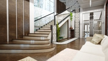 Stair lobby design on Behance