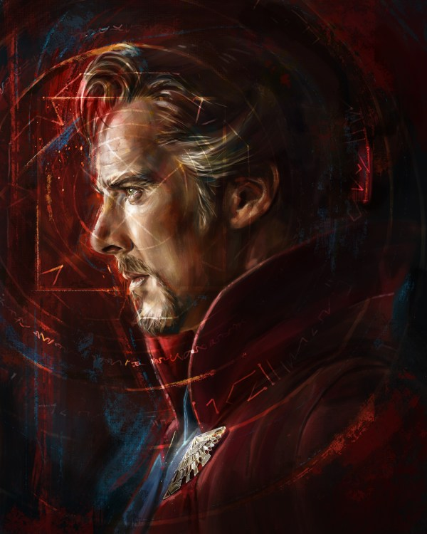 Marvel Doctor Strange Fan Art