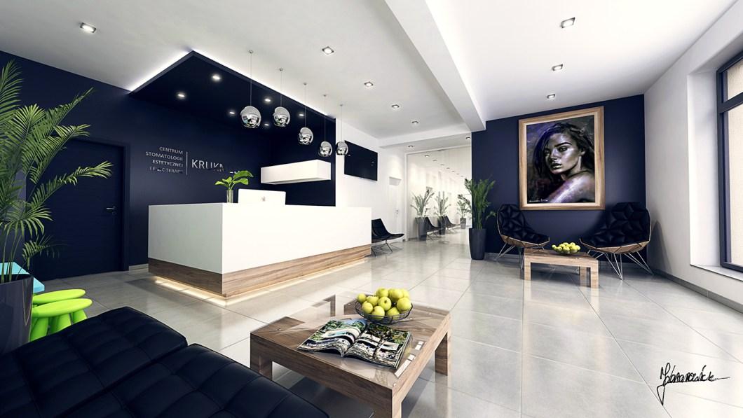 Dental clinic interior design concept for Dental clinic interior design concept