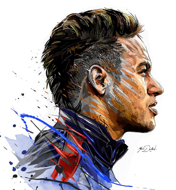 Neymar- Psg Behance