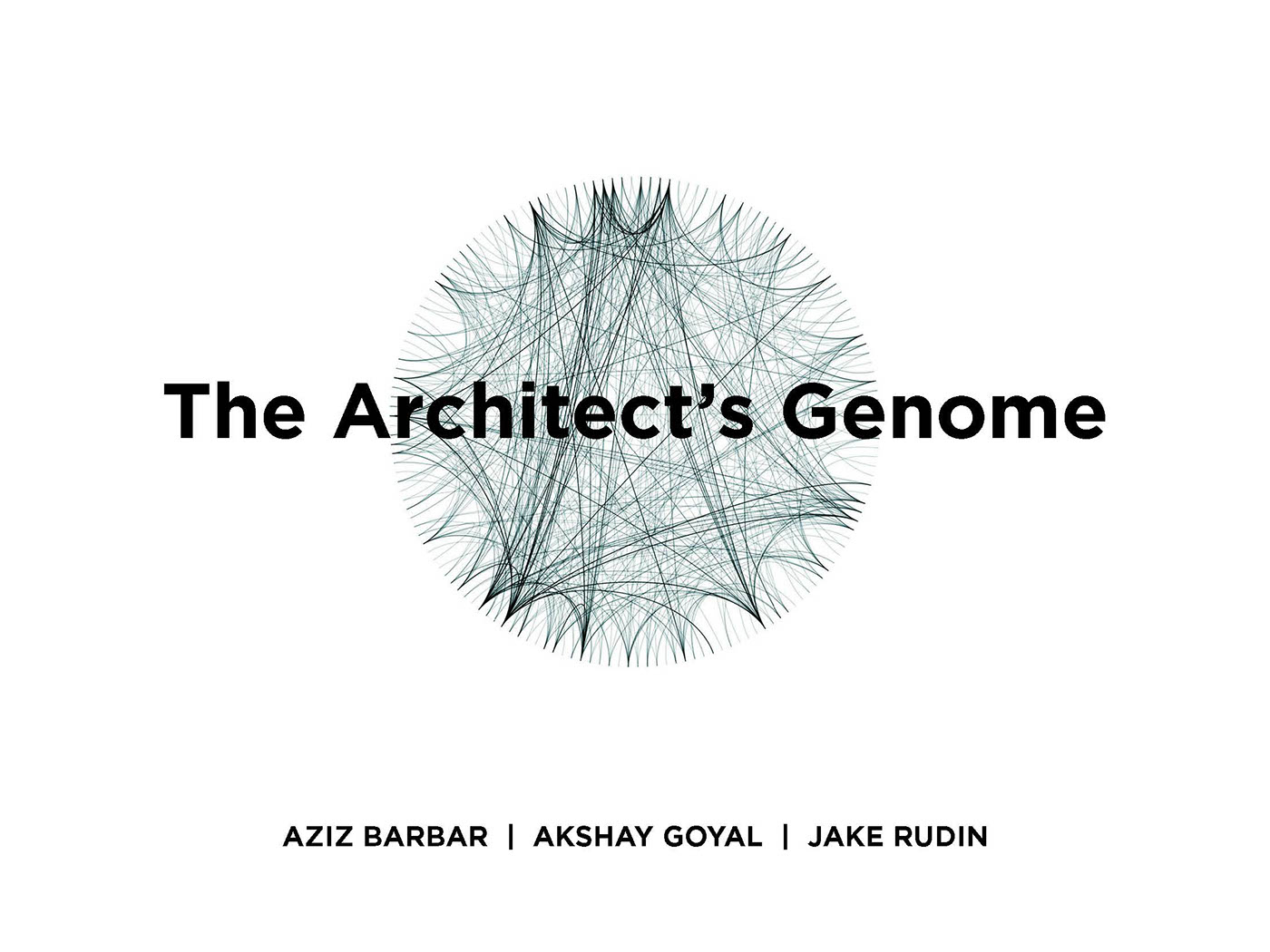 The Architect's Genome on Behance