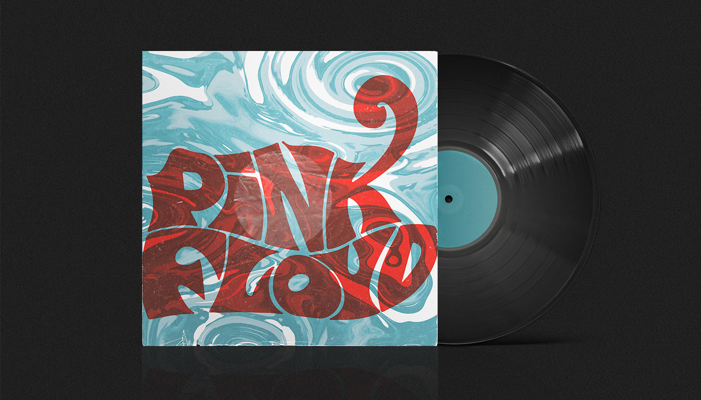 MÉDDLE - Pink Floyd. LP Redesign on Behance