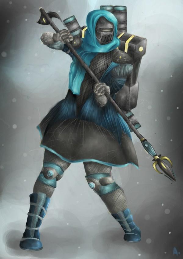 Dark Crusader Concept Art Behance