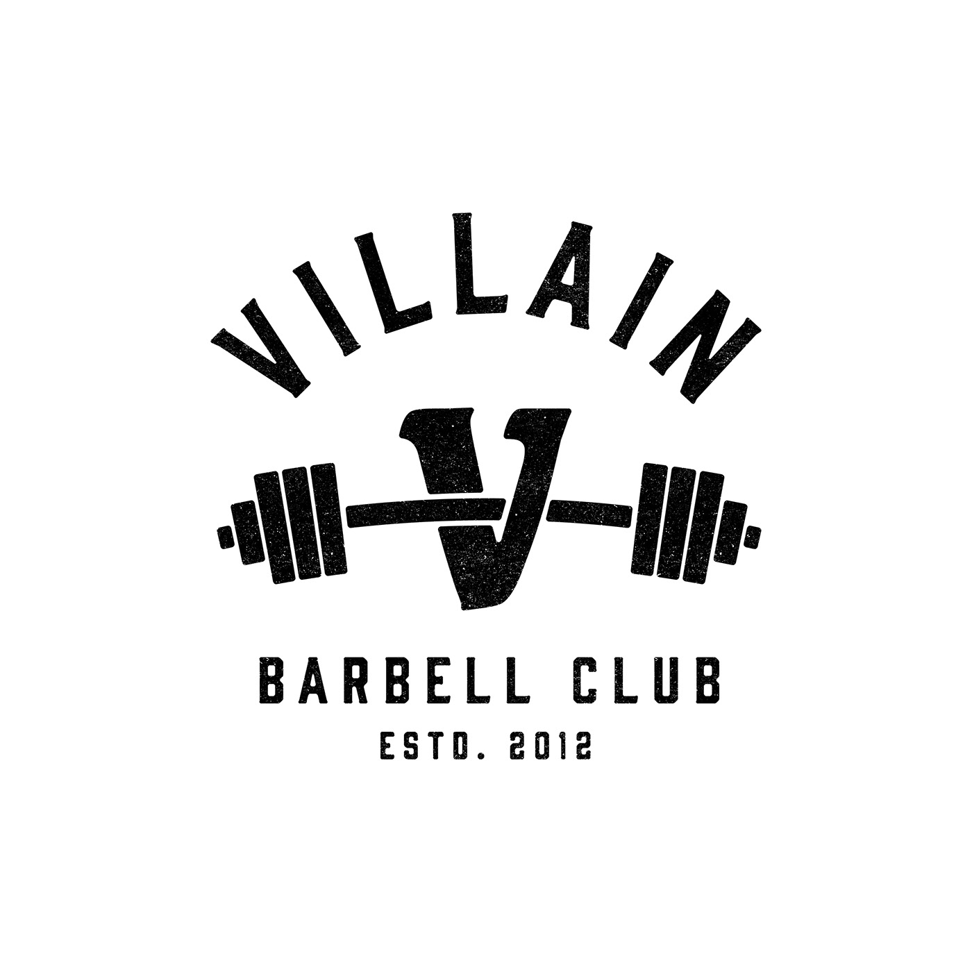 Logo for weightlifting club on Behance