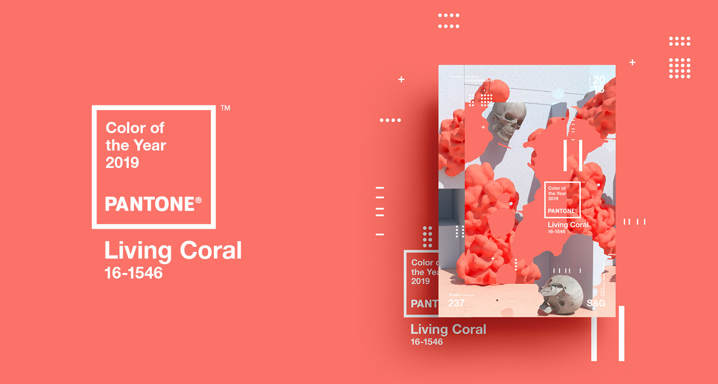 Pantone Color of the Year 2019 | Living Coral on Behance