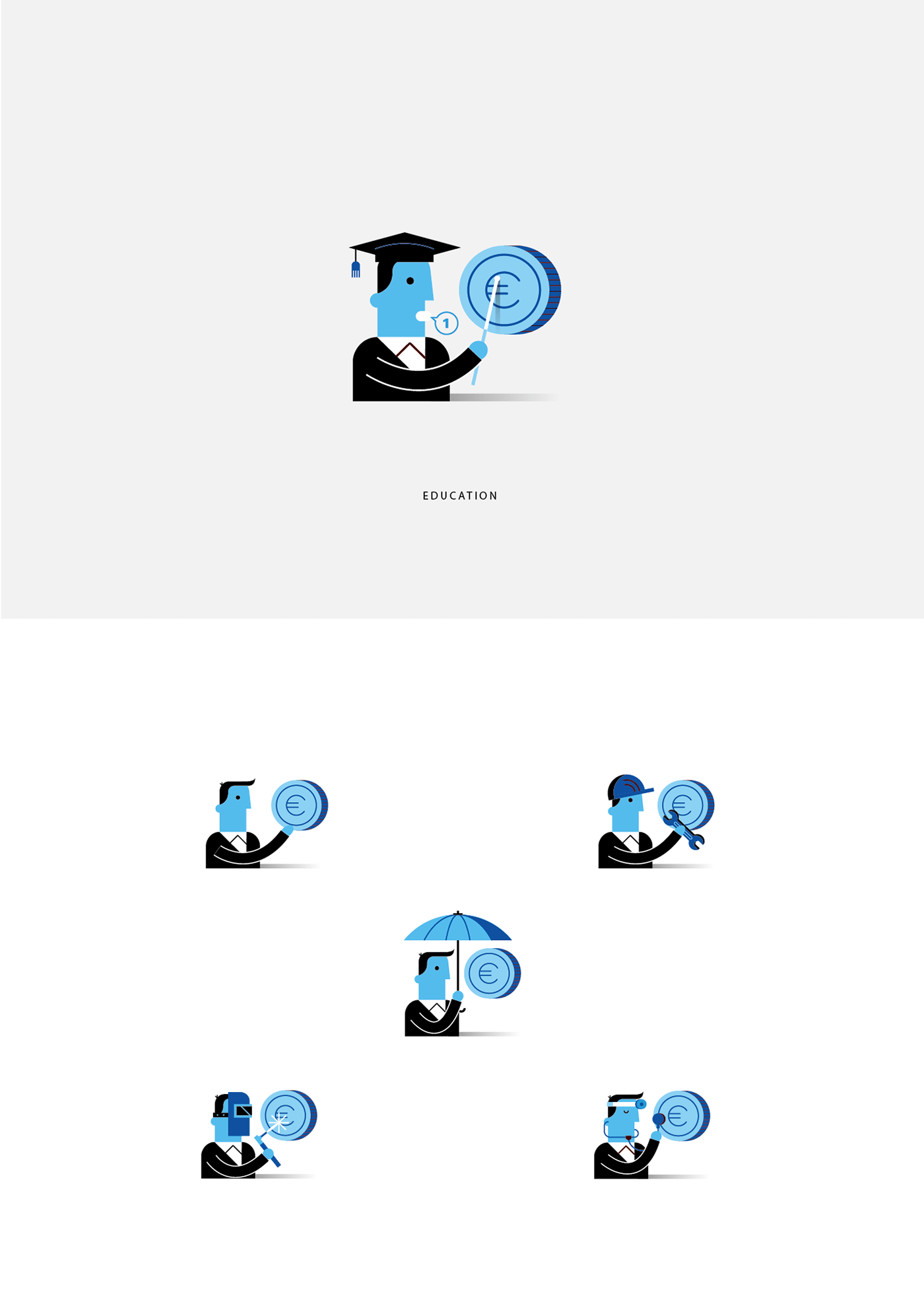 BBVA Business Icons on Behance