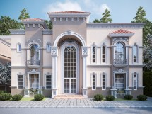 Villas Exterior Behance