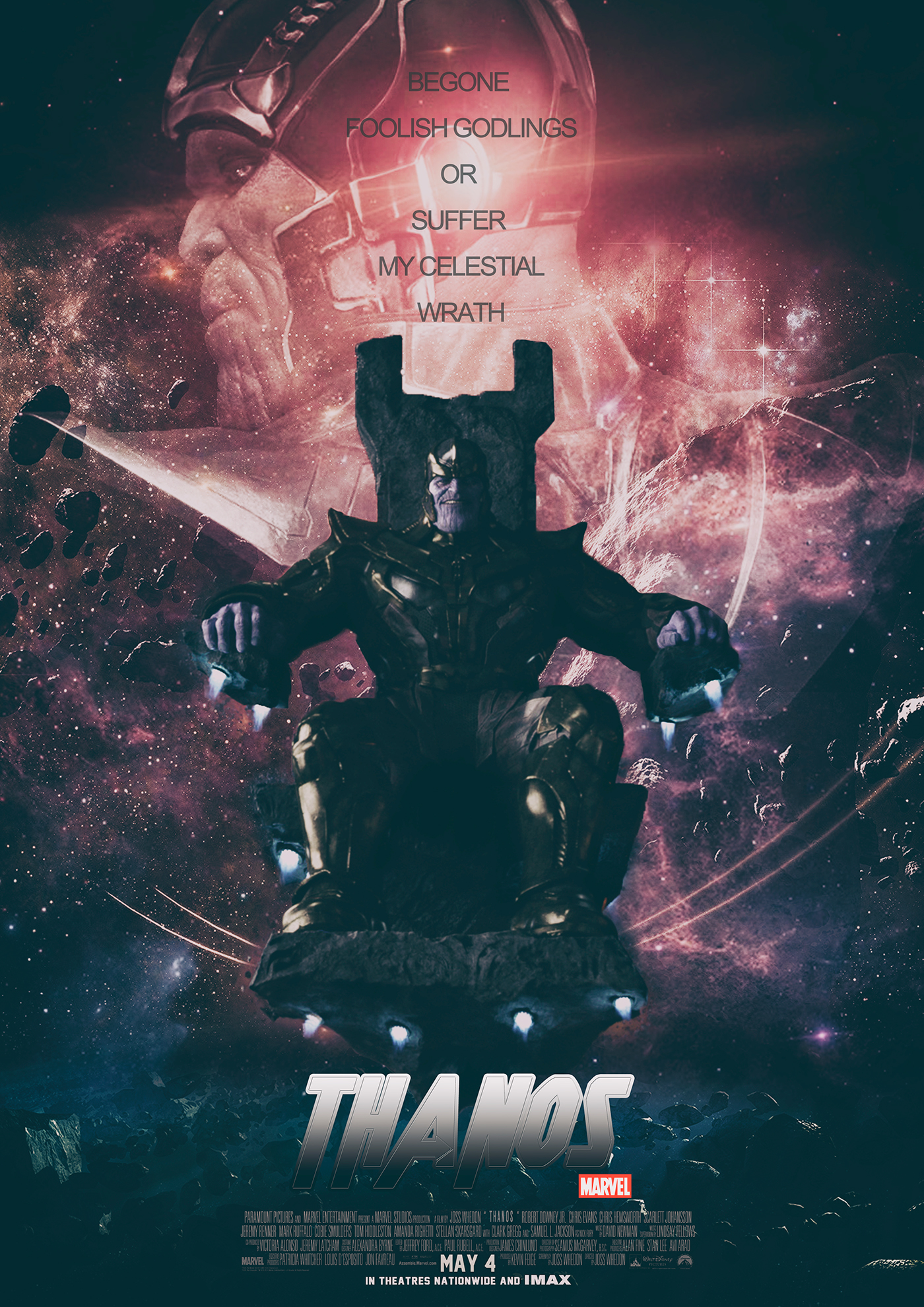 Film Doo : Thanos Movie Poster Competition on Behance