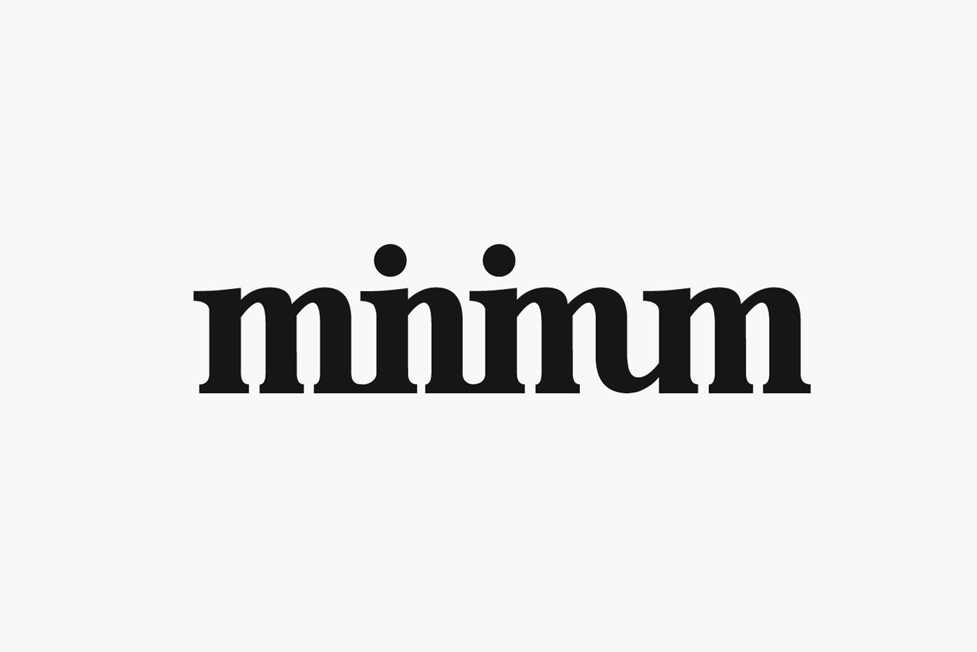 Minimum On Behance