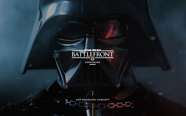 Star Wars Battlefront Companion App Redesign Concept