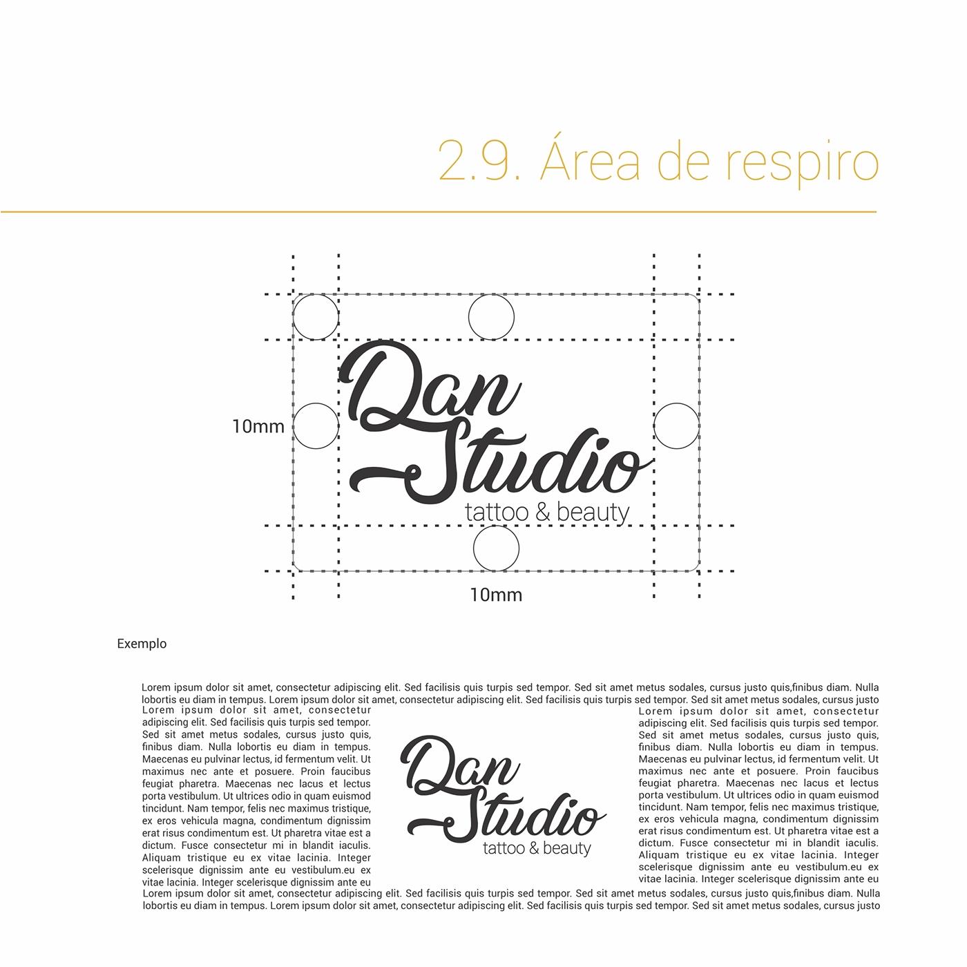 Dan Studio's Visual Identity Manual on Behance