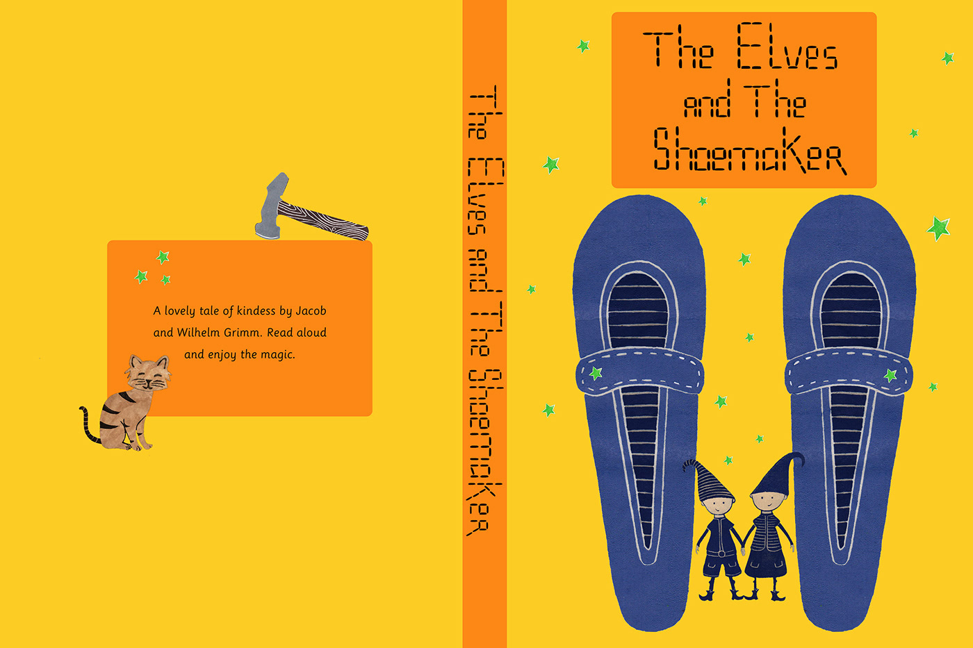 The Elves And The Shoemaker On Behance