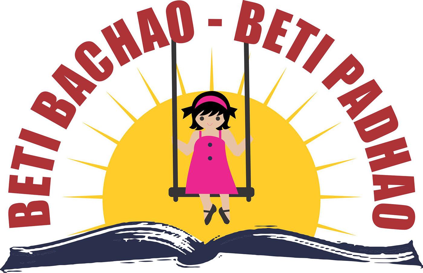 Logo For Beti Bachao Beti Padhao On Behance