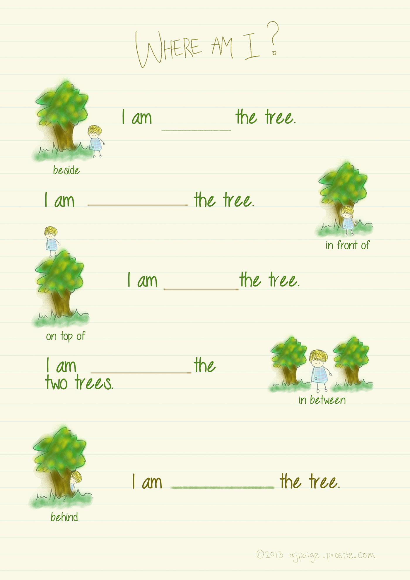 Children S Grammar Exercise On Behance