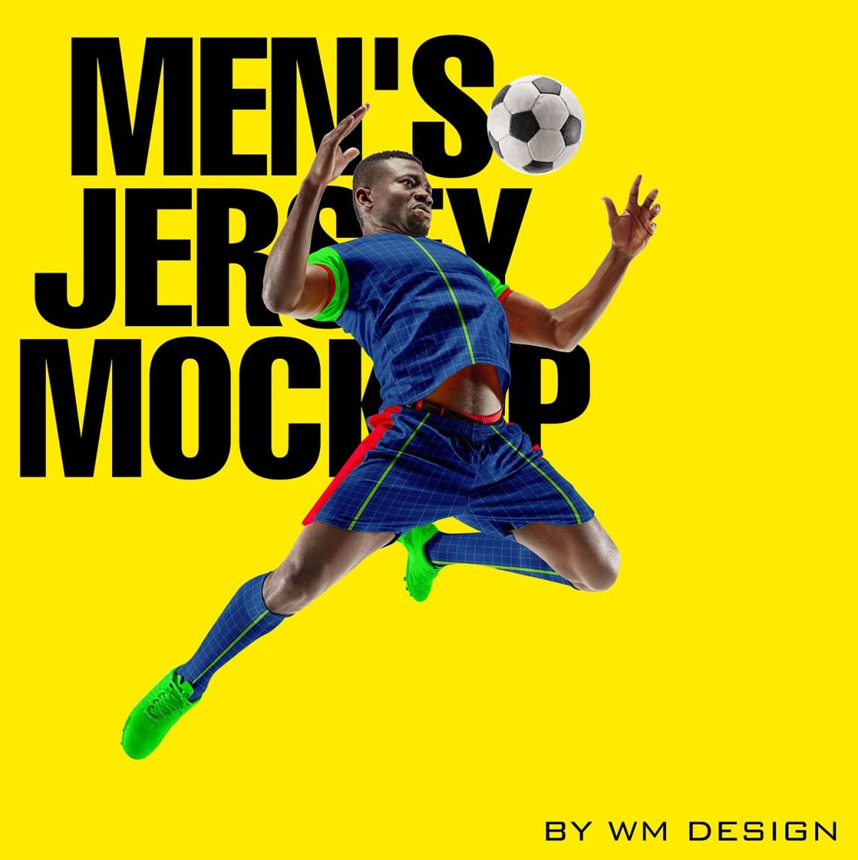 Download Men's Jersey mockup on Behance