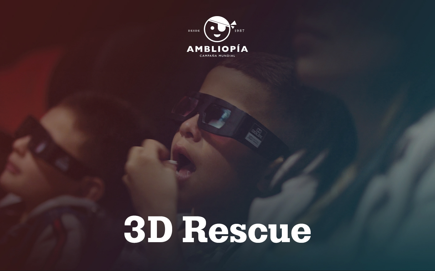 3D RESCUE / AMBLYOPIA WORLD CAMPAIGN on Behance