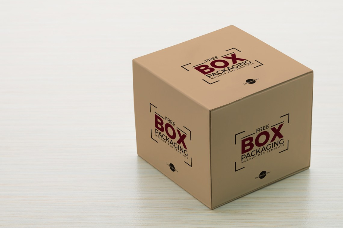 Download Free Box Packaging Mockup PSD Template on Behance