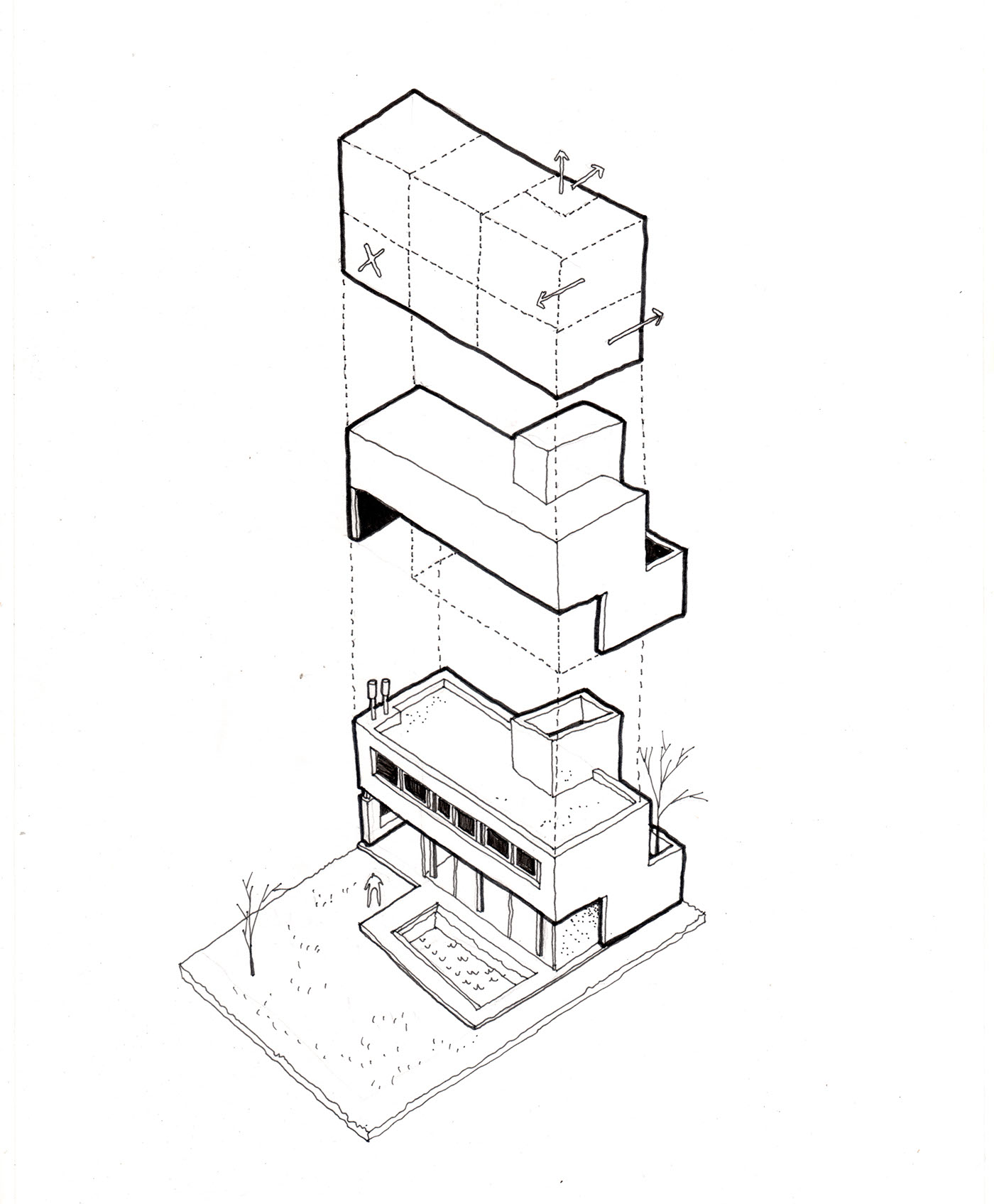 Architectural Drawing on Behance