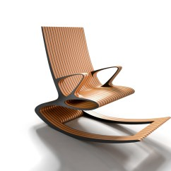 Ergonomic Rocking Chairs Spandex Chair Covers And Sashes Concept On Behance