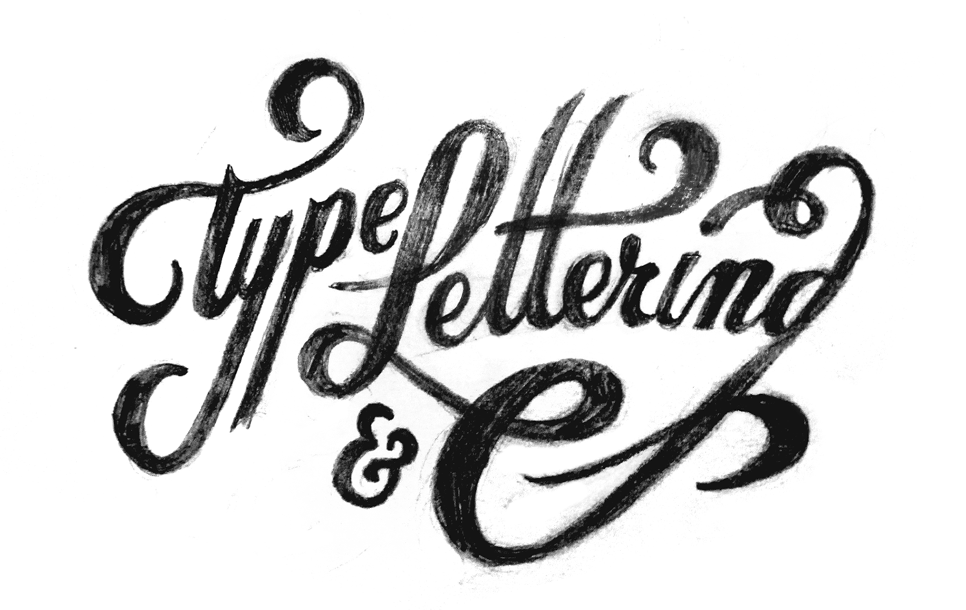 Type Amp Lettering Collection 6 On Behance
