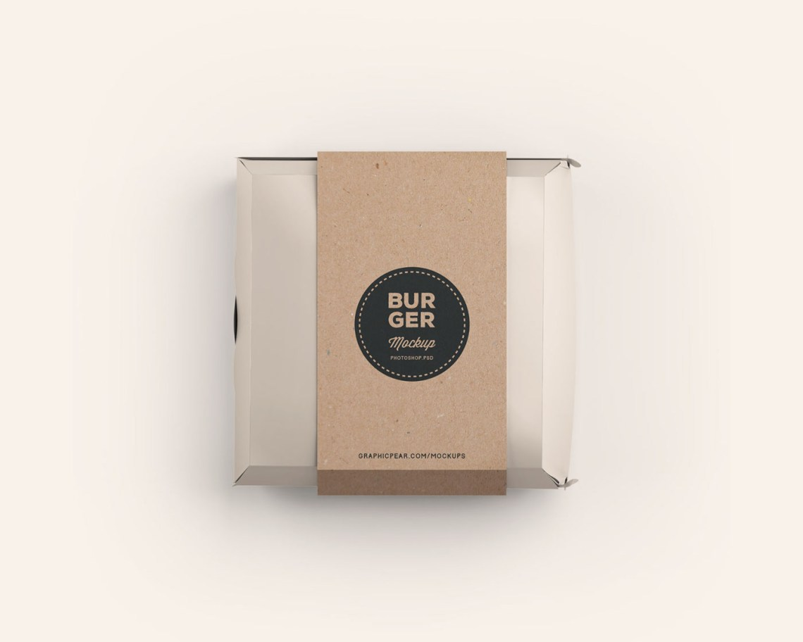 Download Burger Box Mockup - Photoshop .PSD on Behance