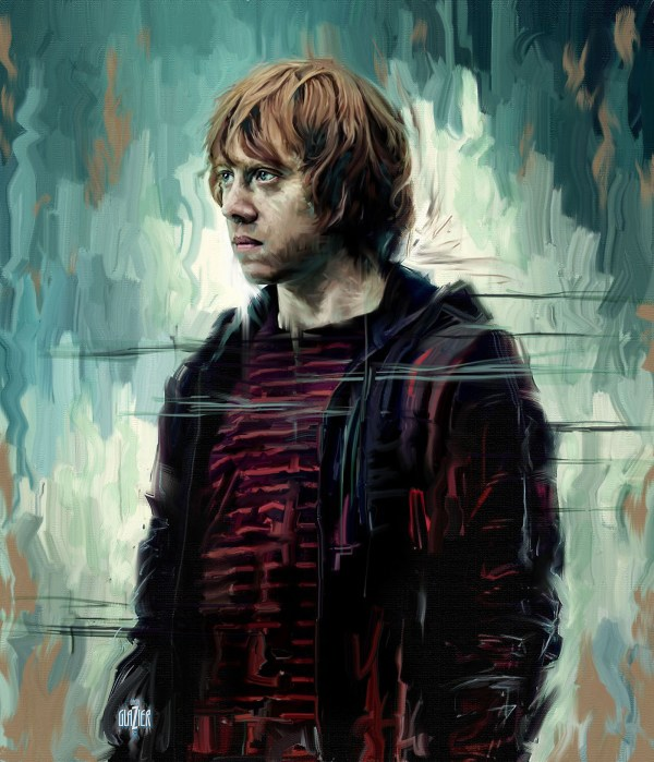 Harry Potter Portraits And Paintings Behance